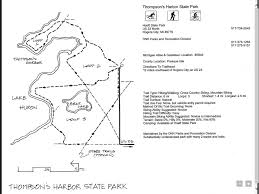 Riverside State Park Trail Map by Thompson U0027s Harbor State Park Map