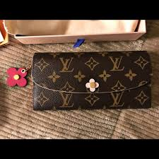 bloom wallet louis vuitton handbags auth deadstock louis vuitton emilie bloom
