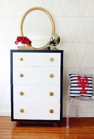 gold dresser diy chalky finish dresser makeover classy clutter