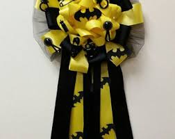 how to make a baby shower corsage batman baby shower etsy