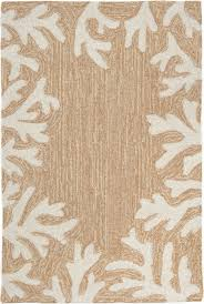 Coral Outdoor Rug by Coral Border Rug From Capri By Trans Ocean By Liora Manne