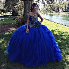 blue quinceanera dresses gown royal blue quinceanera dresses 2017 ruffles skirt
