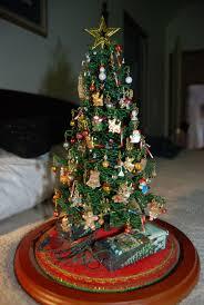 miniature christmas tree stand christmas lights decoration