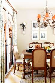 orange dining room a haunted halloween kitchen dining room u2013 dixie delights