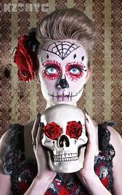 Day Of The Dead Halloween Makeup Ideas 60 Best Day Of The Dead Images On Pinterest Sugar Skulls Day Of