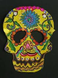 Day Of The Dead Masks Day Of The Dead Calavera Skull Masks Multicultural Art And Craft