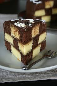 cuisiner des gateaux gâteau damier avec tuto et conseils culinaire by minouchka