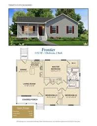 small house floorplans ranch homeplan 45476 has 1258 square of living space 3
