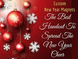 custom new year cards custom new year magnets the best handout to spread the new year