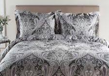 Paisley Duvet Cover Set Impressions 600 Tc Cotton Blend King California King Duvet Set