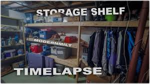 quick and easy basement storage youtube