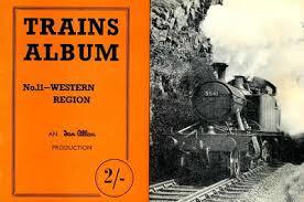 Western Photo Album Section 039 Trains Album Daverowland