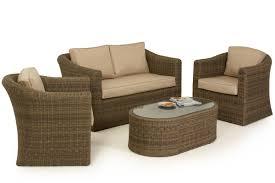 Maze Rattan Winchester  Seat Sofa Set Maze Living - Wicker sofa sets