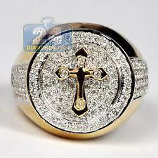 religious rings band yellow gold religious rings for men ebay