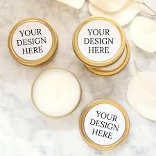 custom wedding favors custom wedding favor candle your design foxblossom co