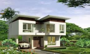 2 Story Modern House Plans Two Story House 3 Bedroom 3 Bathroom Modern House Plans 134 Sq M
