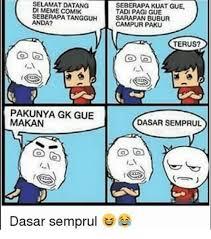 Comik Meme - 25 best memes about indonesian language indonesian