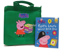 Peppa Pig 2017 Book Peppa Pig Bag 10 Book Set Collection Rrp Free 2017 World Book Day