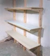 Wood Shelf Gallery Rail by Wood Shelf Plans For Garage 101558 The Best Image Search