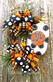 187 best funky bow wreath images on pinterest bow wreath