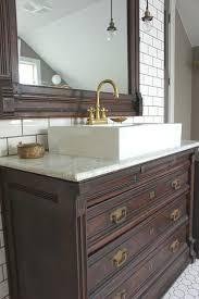 Antique Dresser Vanity Bathroom The Most Dresser Vanity Vintage Used For From Old