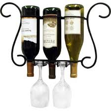 wall wine racks wine enthusiast urban wall wine rack display