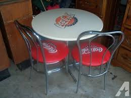 coca cola table and chairs coca cola table 2 chairs for sale in bonanza texas classified