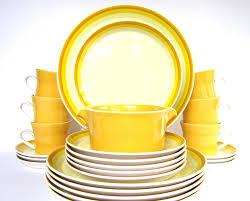 vintage yellow color vintage 1970s mikasa