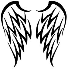 tribal wings design tribal designs
