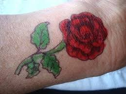 diy temporary tattoo large rose tattoo how to draw a rose diy