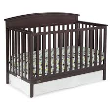 Non Convertible Cribs Graco Benton 5 In 1 Convertible Crib Espresso Walmart