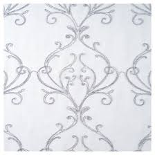 yorkshire home valencia embroidered curtain panel 95