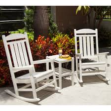 Outdoor Vinyl Rocking Chairs Outdoor Rocking Chair Sets Outdoor Furniture Sets
