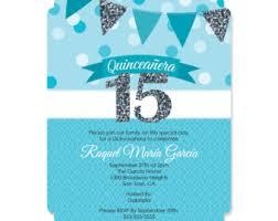 sweet 15 invitation etsy
