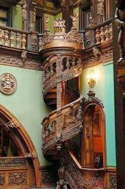 cool wood carvings amazing wood carved spiral staircase the meta picture