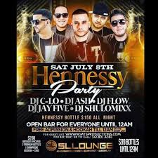 hennessy party at sl lounge in elmhurst at sl lounge ny