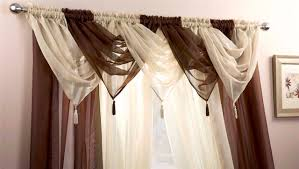 Curtain Draping Ideas Interior Design Decorate Your Window By Using Swags Galore