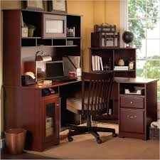 Bush Desk With Hutch Home Computer Desk Hutch Bush Cabot Corner With Optional Bhi874