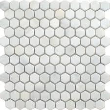flooring hexagon floor tile hexagonal tiles white marble
