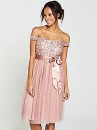 dress pink pink dresses occasion wear women www co uk