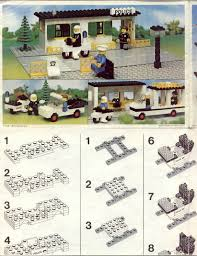Lego Headquarters Lego Police Headquarters Instructions 588 Police