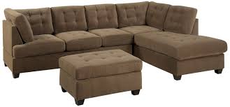 Sofa Ottoman Set Bobkona Michelson 3 Reversible Sectional With
