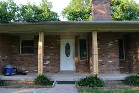 porch columns decorative exterior posts decorating front for