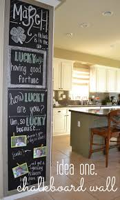 chalkboard ideas for kitchen kitchen decorating four ideas budget lulu linen
