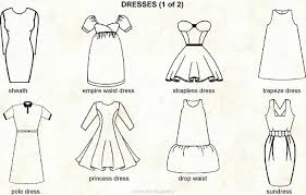 dress styles guide to different dress styles with chart ebay
