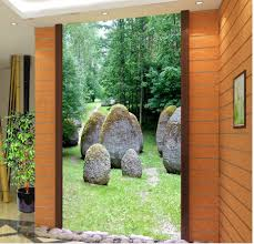 aliexpress com buy green stone forest landscape perspective 3d aliexpress com buy green stone forest landscape perspective 3d room wallpaper landscape home decoration 3d mural paintings from reliable 3d mural painting