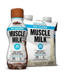 100 calorie muscle milk light vanilla crème muscle milk 100 calorie protein shake muscle milk