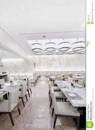 modern white restaurant interior stock image image 10461787