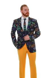 mardi gras suits pre order the masquerade of mardi gras blazer delivery mid