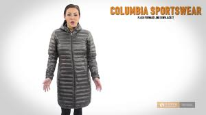 columbia ultra light down jacket columbia sportswear flash forward long down jacket 650 fill power